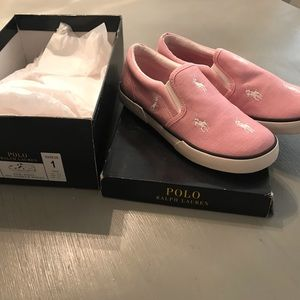 New Girls Polo Ralph Lauren Sneakers